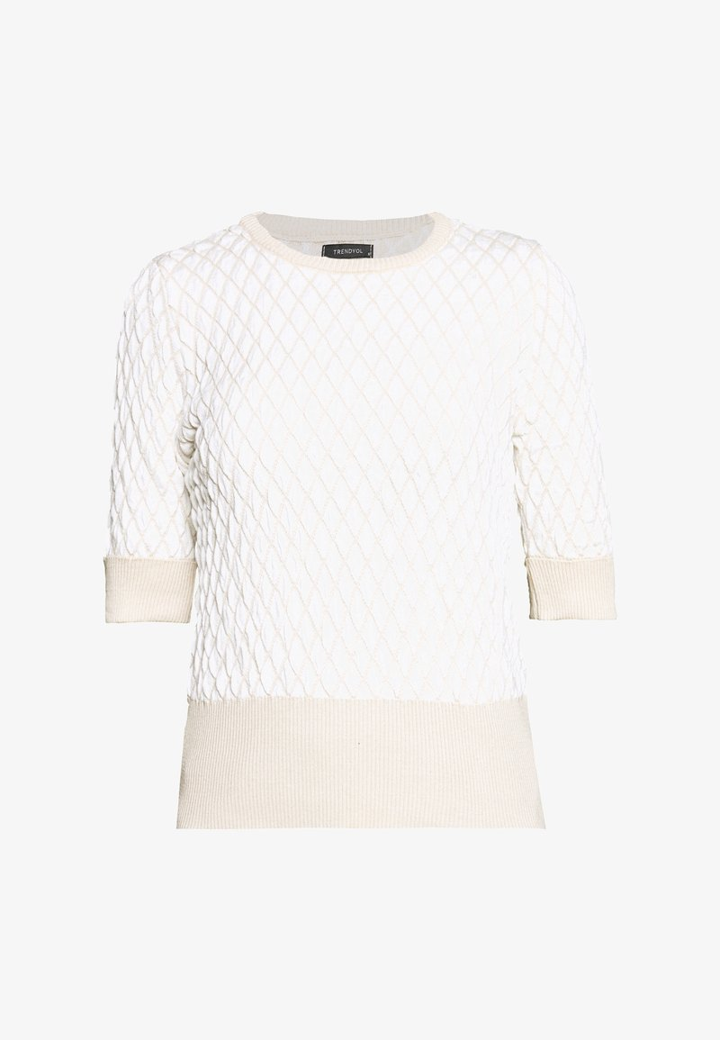 Trendyol - Print T-shirt - stone