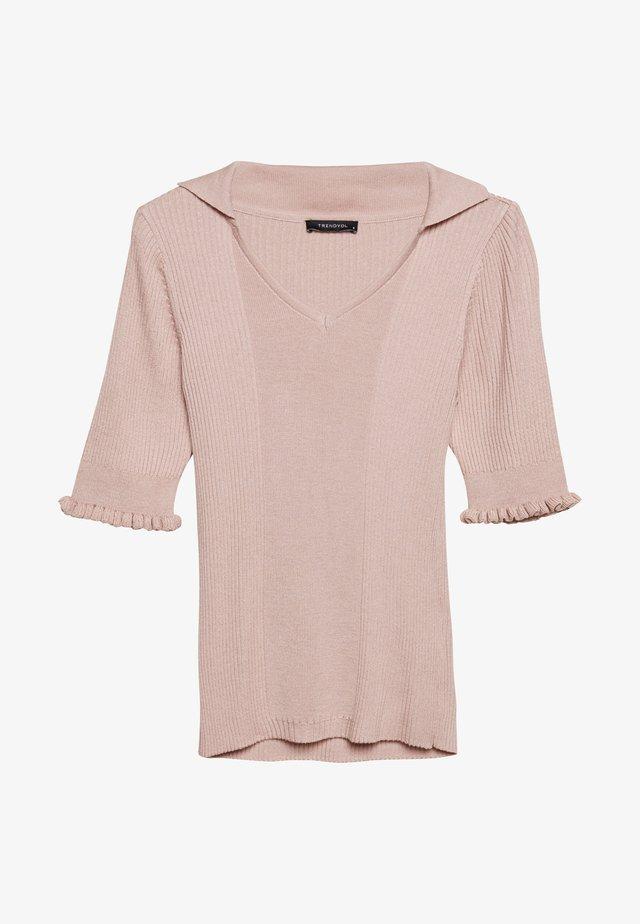 T-shirt - bas - powder pink