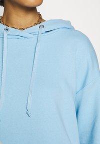 Trendyol - MAVI - Hoodie - blue - 4