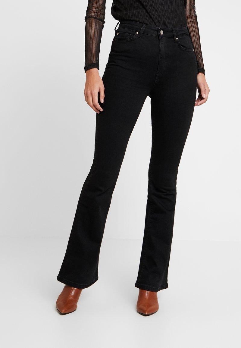 Trendyol - MAVI - Flared jeans - black