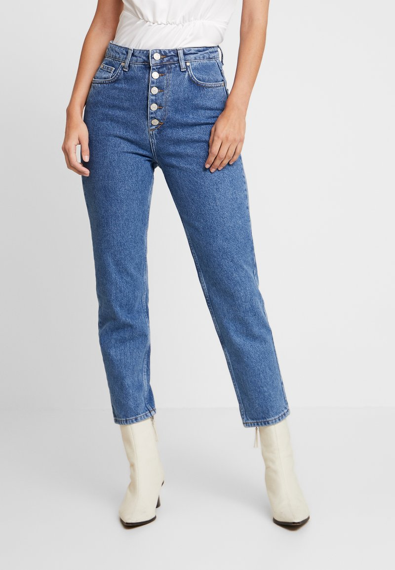 Trendyol - Relaxed fit jeans - indigo