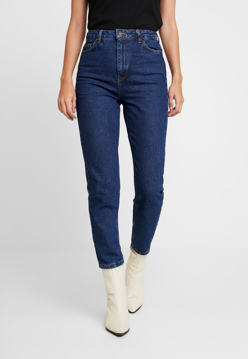 Trendyol - LACIVERT - Relaxed fit jeans - navy
