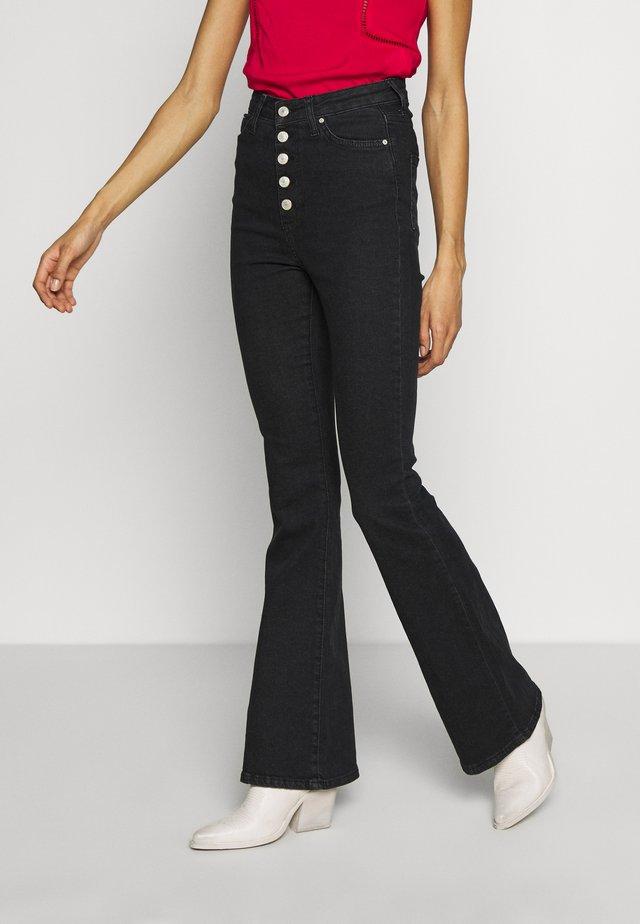 MAVI - Jeans bootcut - black