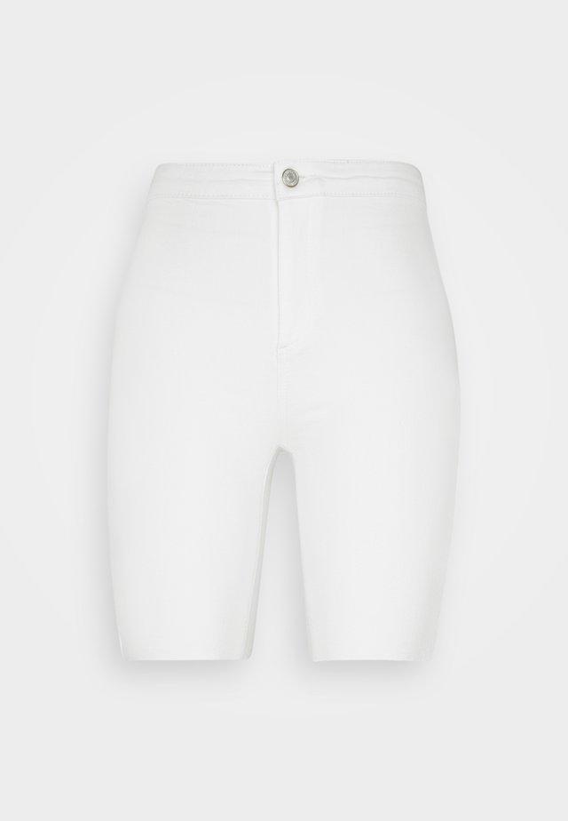 BEYAZ - Denim shorts - white