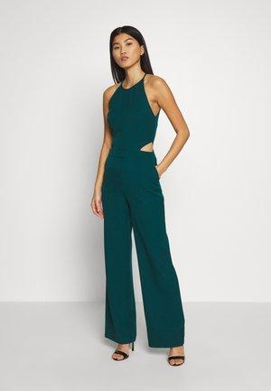 TWOSS - Tuta jumpsuit - emerald green