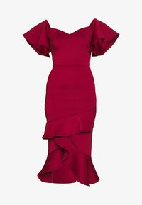 True Violet Petite - BARDOT MIDI DRESS - Cocktailkjole - burgundy - 4