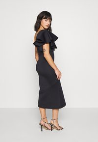True Violet Petite - ONE SHOULDER MIDI DRESS - Cocktailkjole - navy - 2