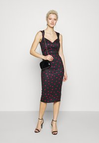True Violet Tall - TRUE SWEETHEART MIDI BODYCON - Etui-jurk - navy/pink - 2