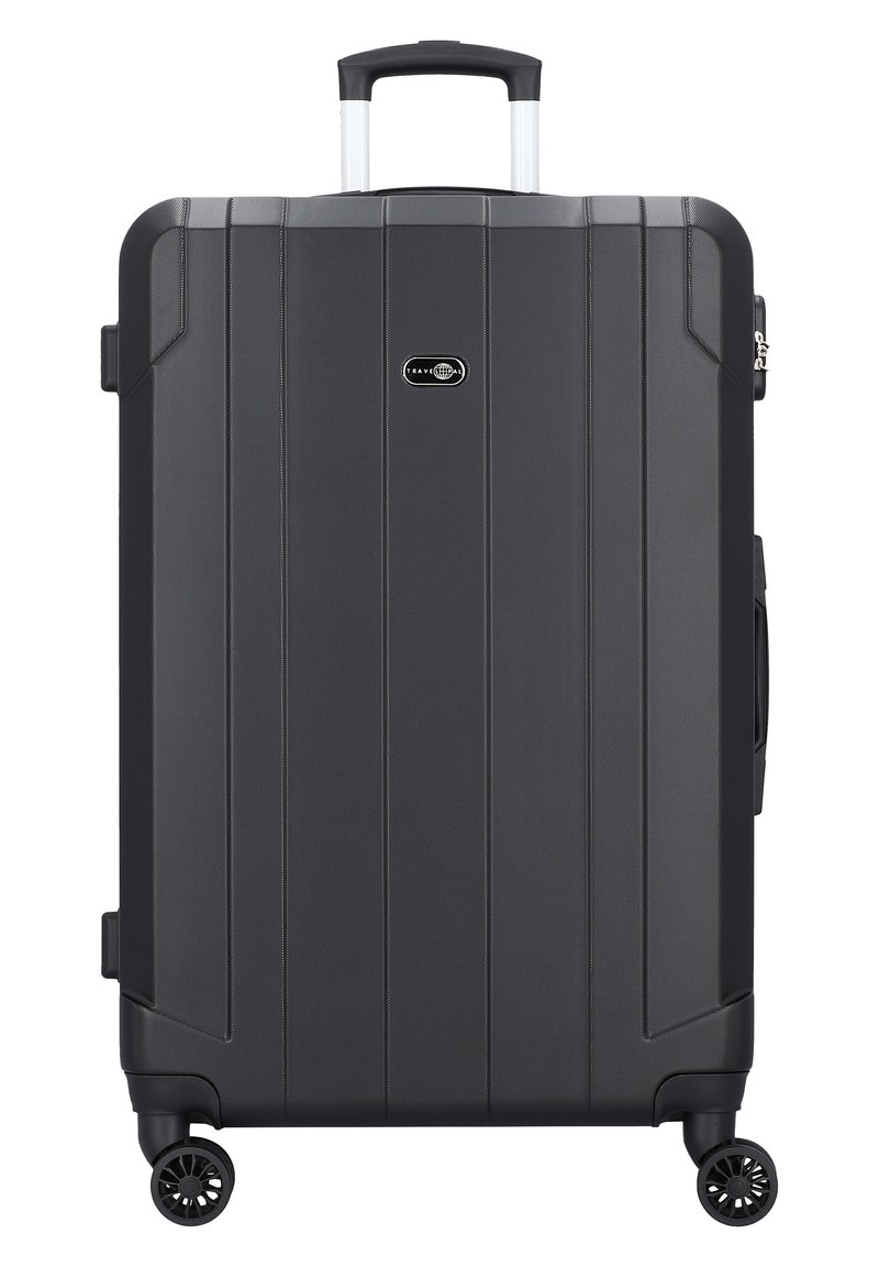 Travel Pal - DOPPELROLLEN - Wheeled suitcase - schwarz