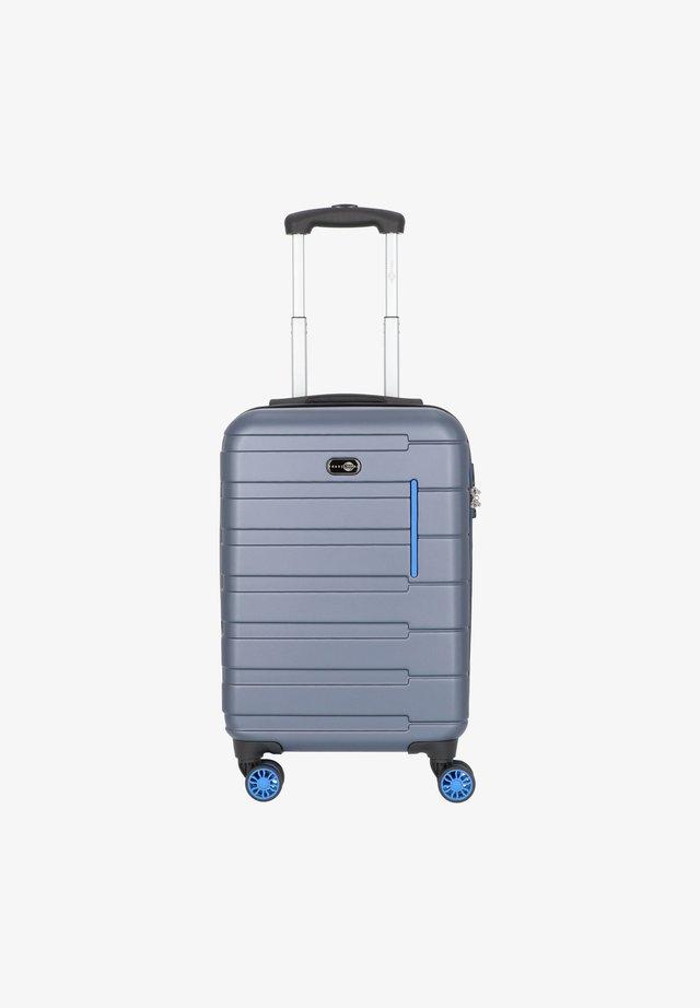 MÜNCHEN - Trolley - blau/hellblau