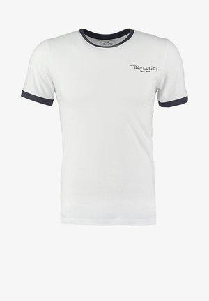 Basic T-shirt - blanc/dark navy