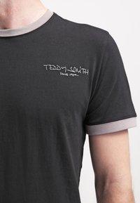 Teddy Smith - Jednoduché triko - noir/gris - 4