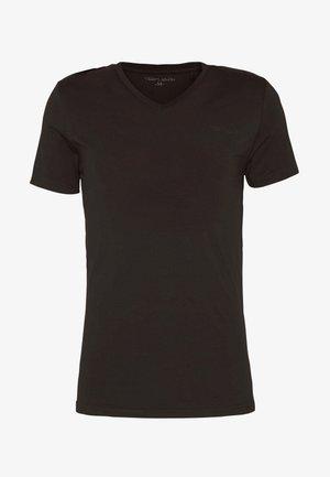 AWAX - Jednoduché triko - noir