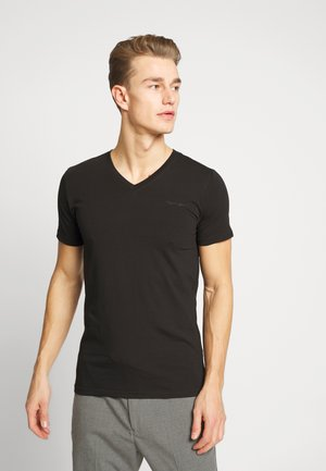 AWAX - T-shirts basic - noir