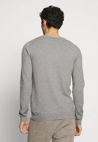 Teddy Smith - PIKO - Pullover - gris chine moyen - 2
