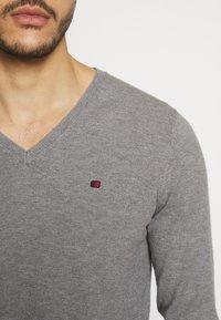 Teddy Smith - PIKO - Pullover - gris chine moyen - 4
