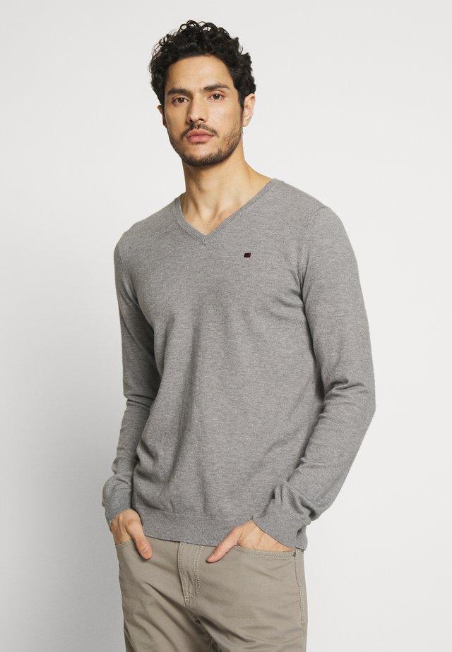 PIKO - Sweter - gris chine moyen