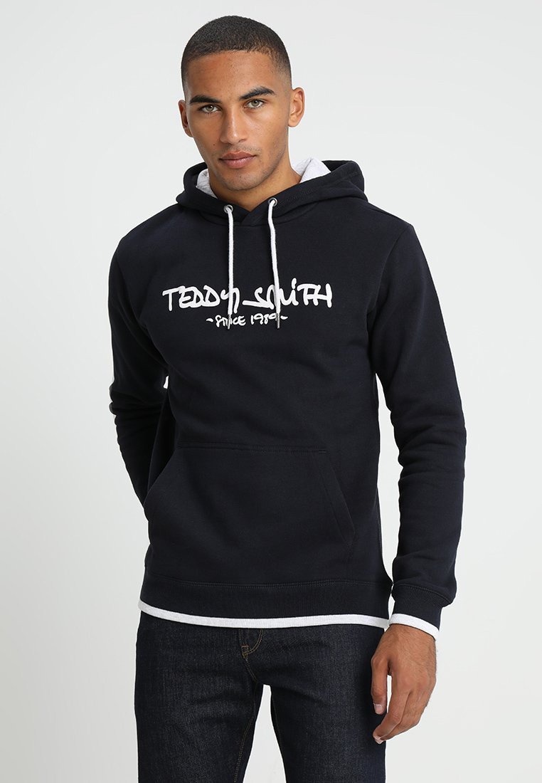 Teddy Smith - SICLASS HOODY - Kapuzenpullover - dark navy