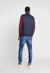 Teddy Smith - TERRY - Vest - total navy - 2