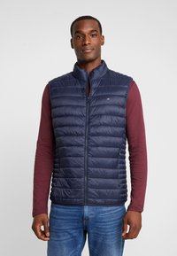 Teddy Smith - TERRY - Vest - total navy - 0