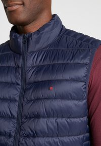 Teddy Smith - TERRY - Vest - total navy - 5