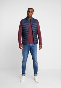 Teddy Smith - TERRY - Vest - total navy - 1