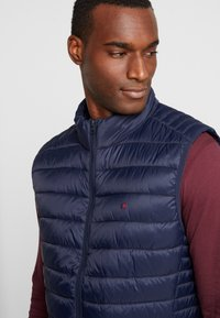 Teddy Smith - TERRY - Vest - total navy - 3