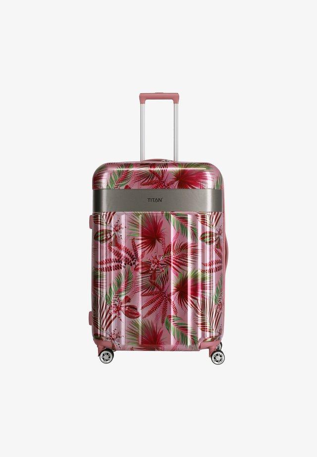 SPOTLIGHT FLASH - Valise à roulettes - pink hawaii