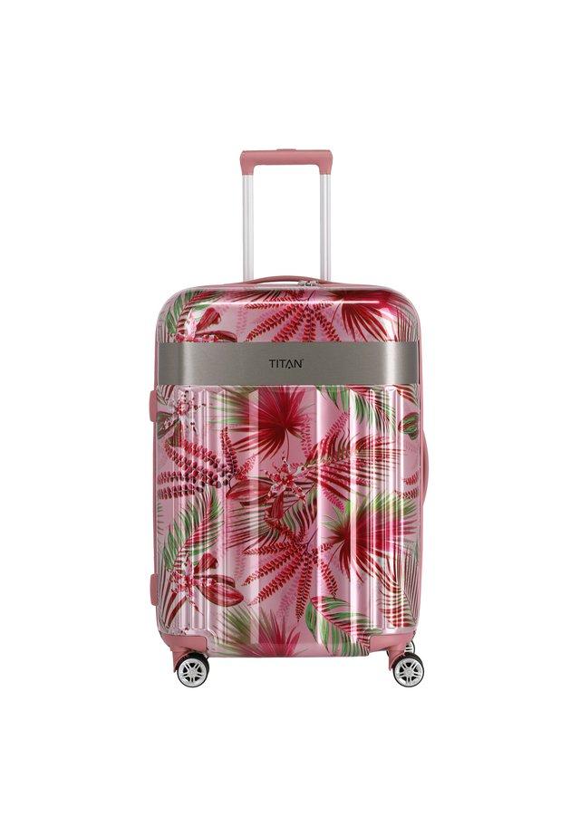 SPOTLIGHT FLASH - Wheeled suitcase - pink hawaii