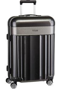 Titan - SPOTLIGHT FLASH - Wheeled suitcase - anthracite - 1