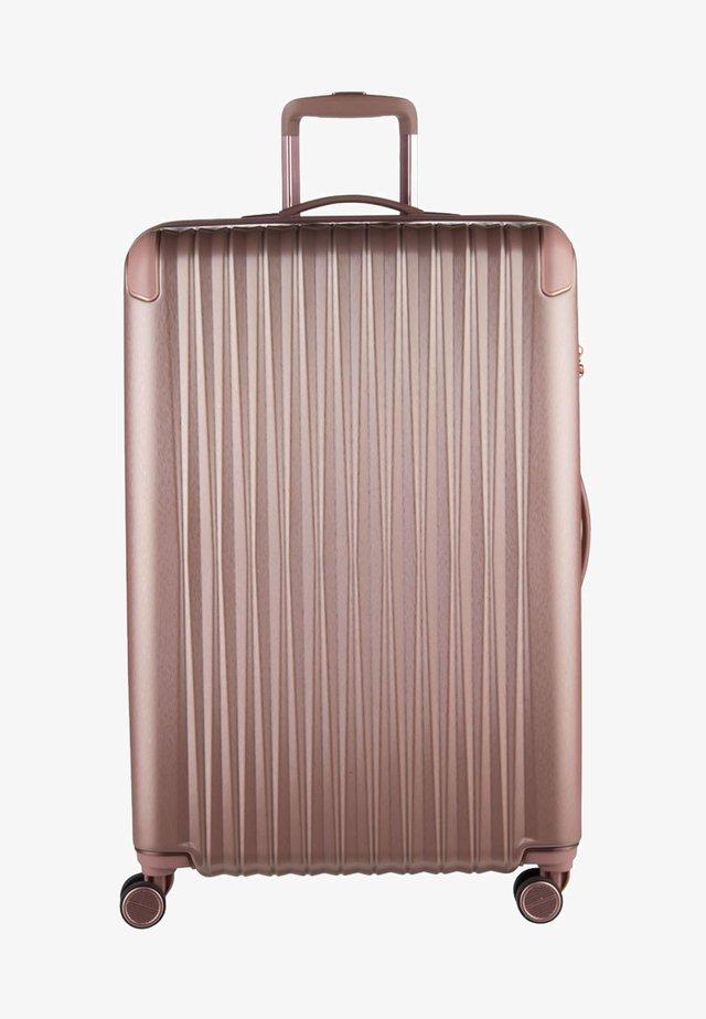 BARBARA SCHÖNEBERGER  - Wheeled suitcase - rose metallic