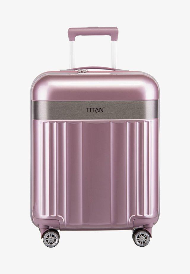 SPOTLIGHT - Wheeled suitcase - wild rose
