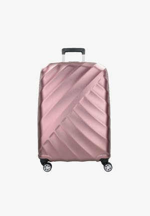 SHOOTING STAR L 4-ROLLEN - Wheeled suitcase - rose