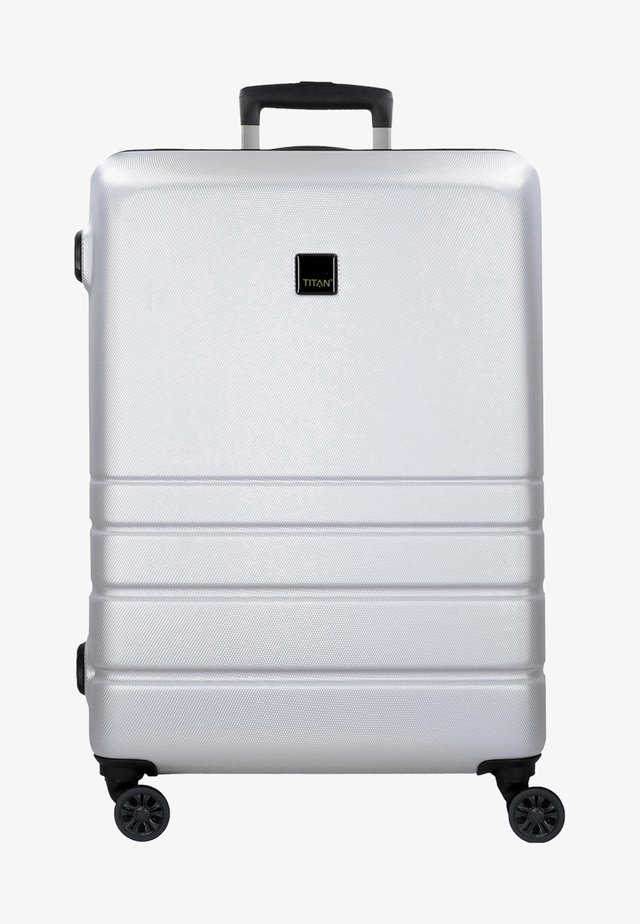 LIVERPOOL MIT DOPPELROLLEN - Wheeled suitcase - silver-colored