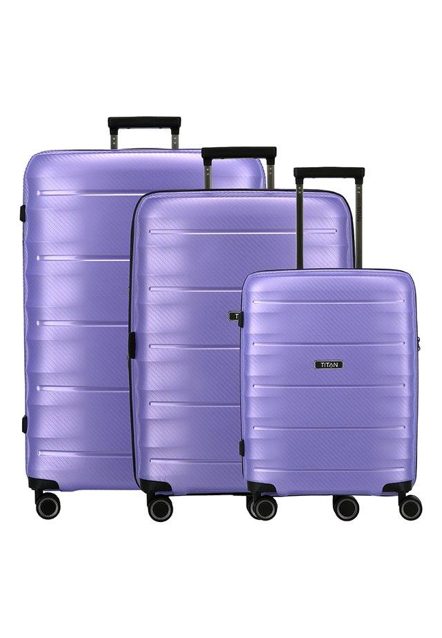3 PACK - Kofferset - lilac metallic
