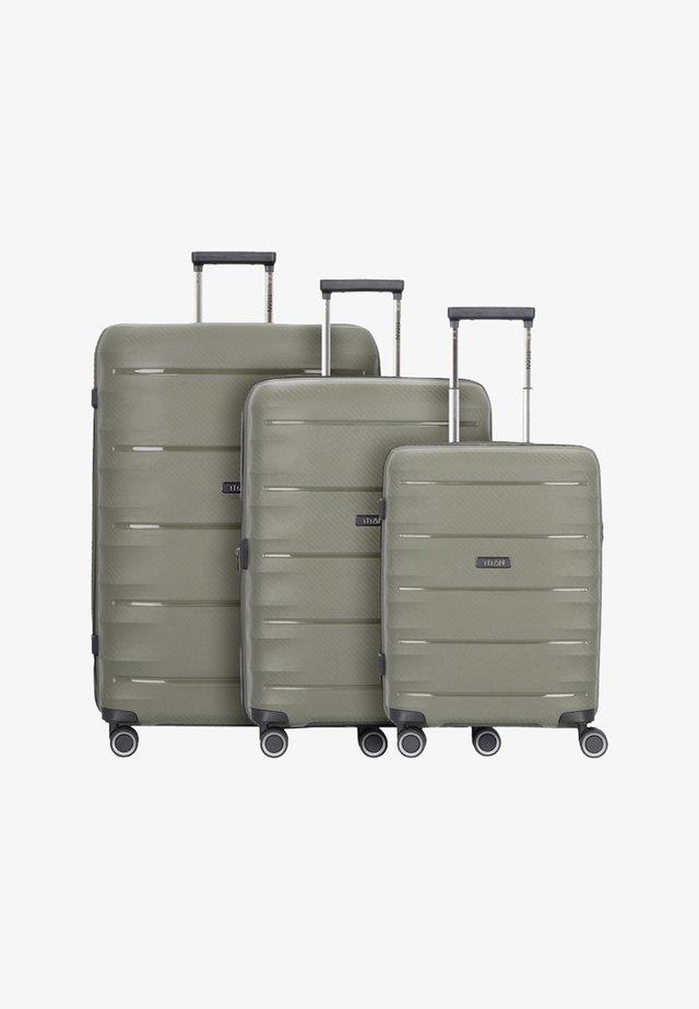 3 PACK - Kofferset - olive