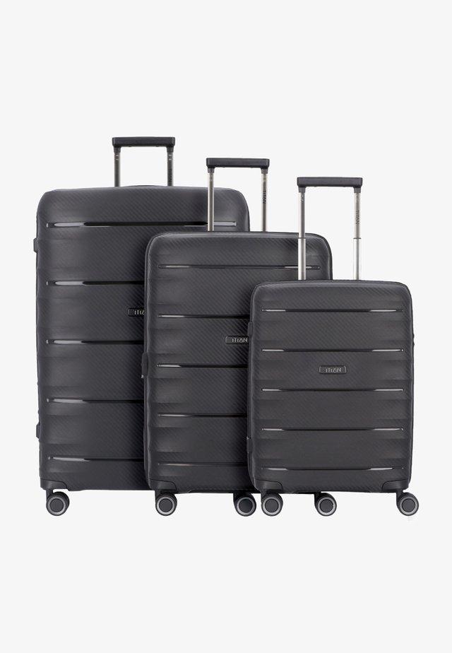 3 PACK - Kofferset - black