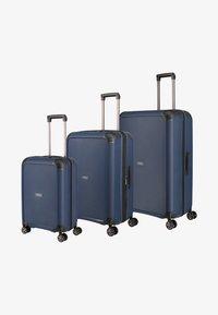 Titan - Luggage set - navy - 0