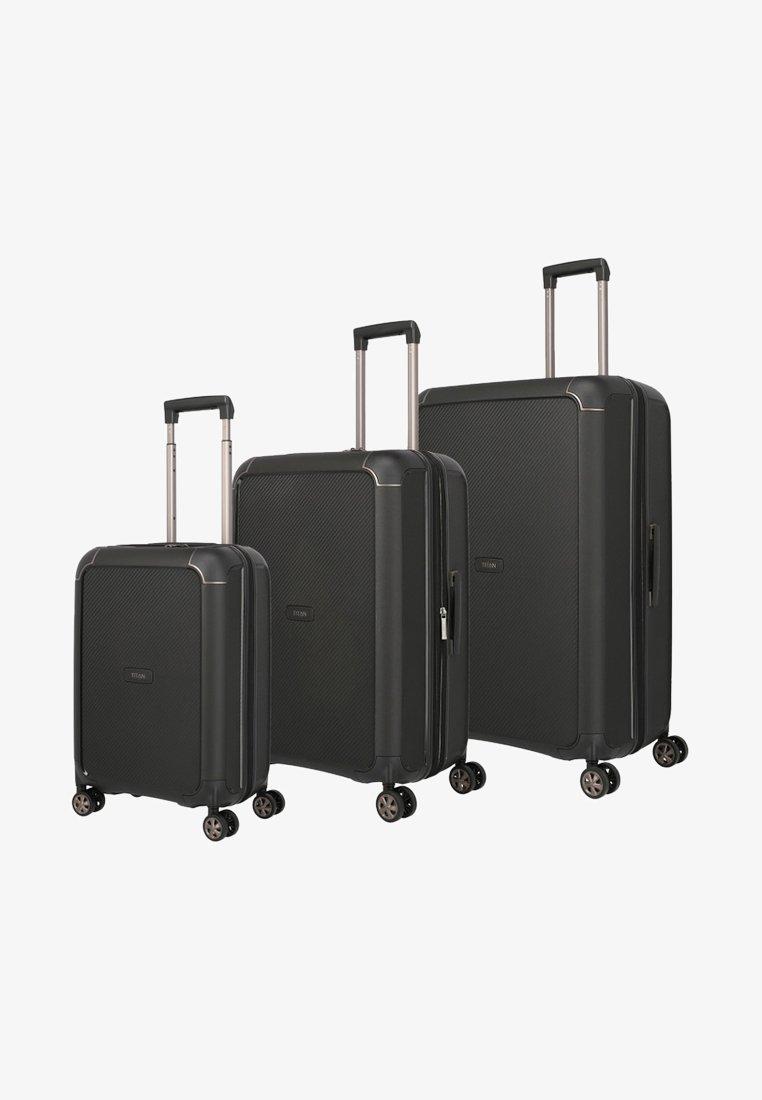 Titan - Luggage set - black