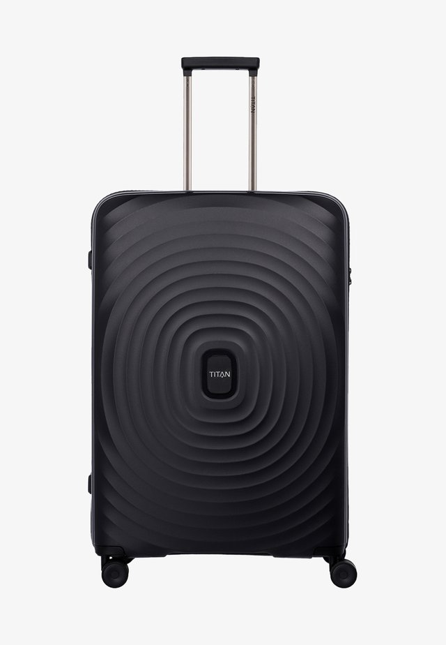 LOOPING - Wheeled suitcase - black