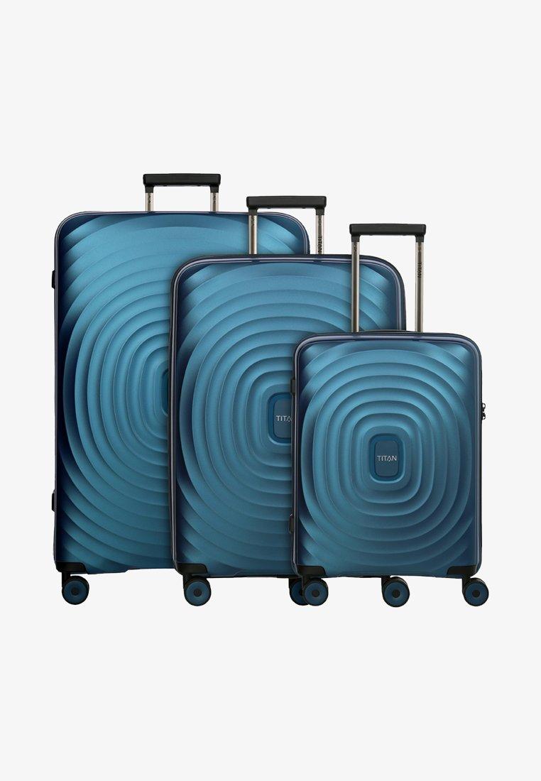 Titan - 3SET - Luggage set - petrol