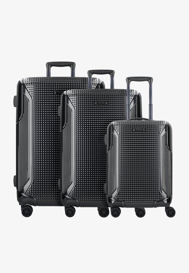 3SET - Kofferset - black