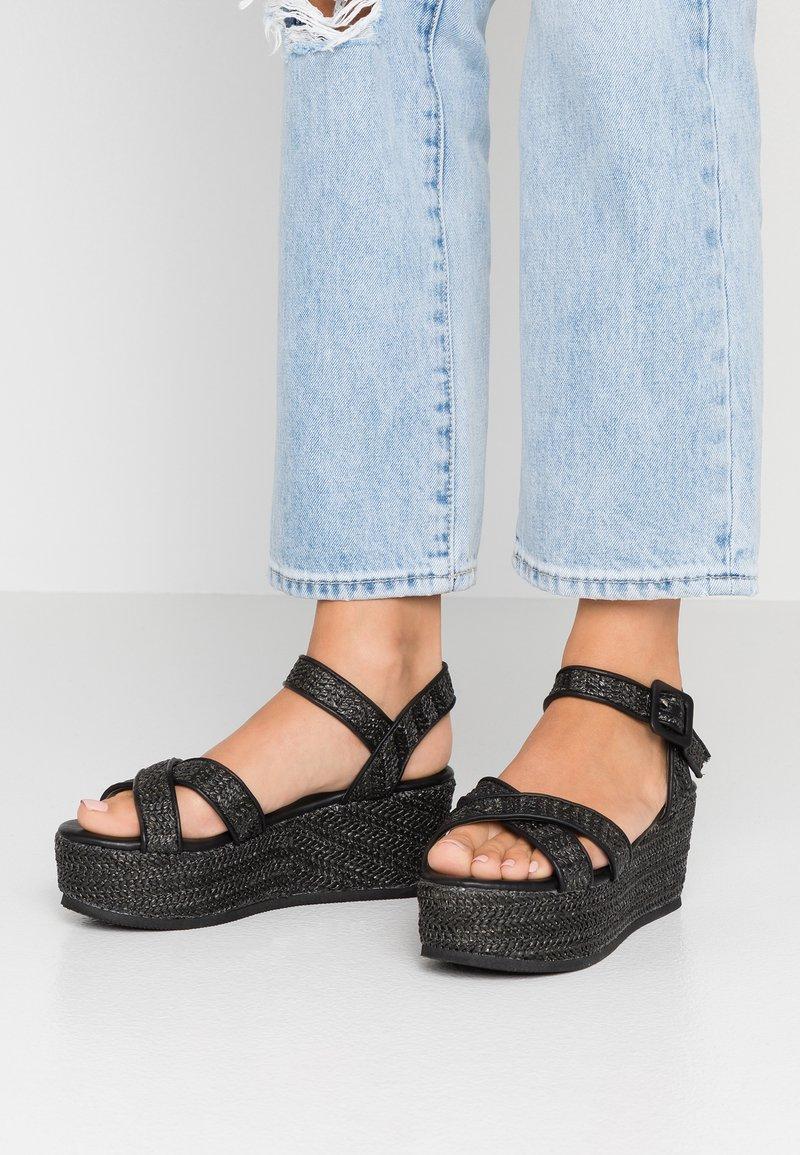 Tata Italia - Platform sandals - black