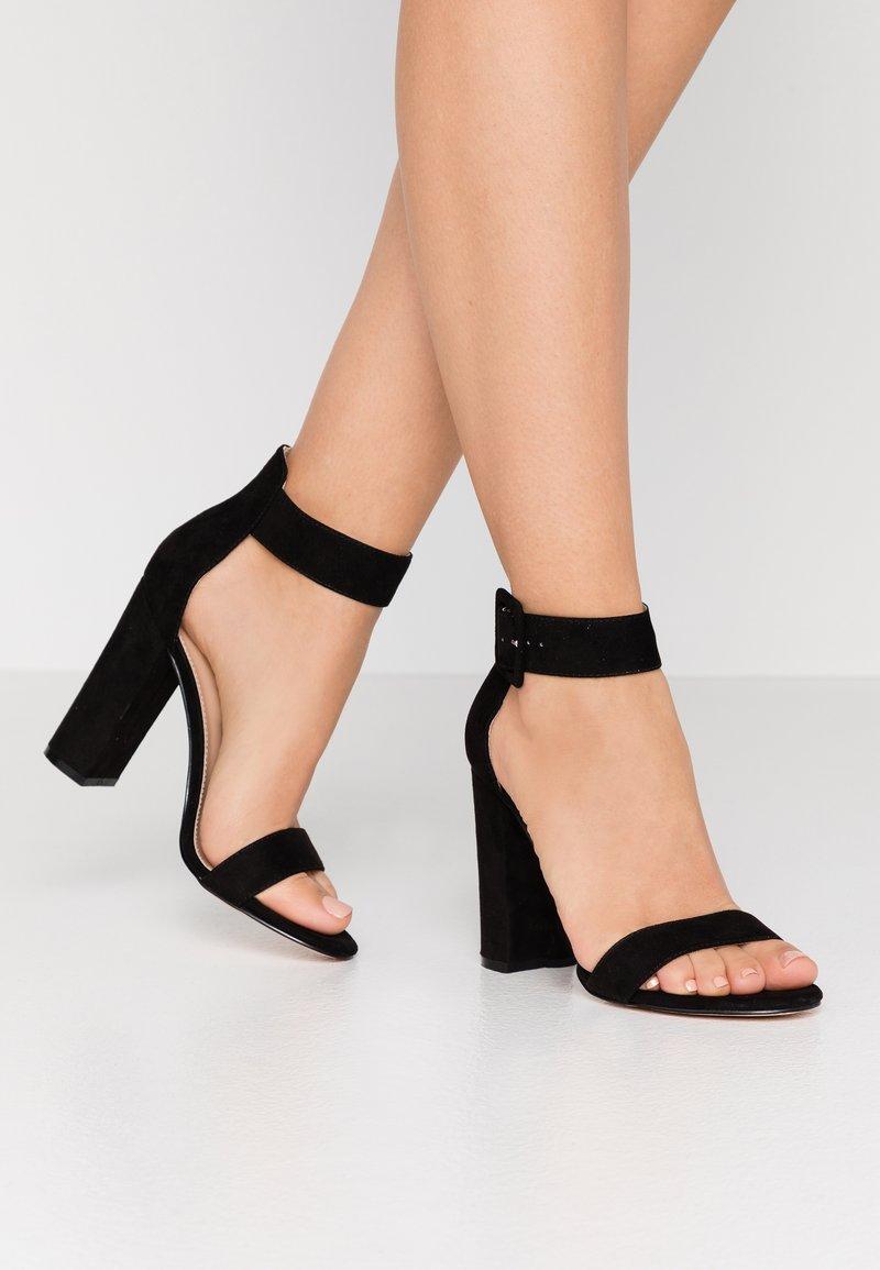 Tata Italia - Sandály na vysokém podpatku - black