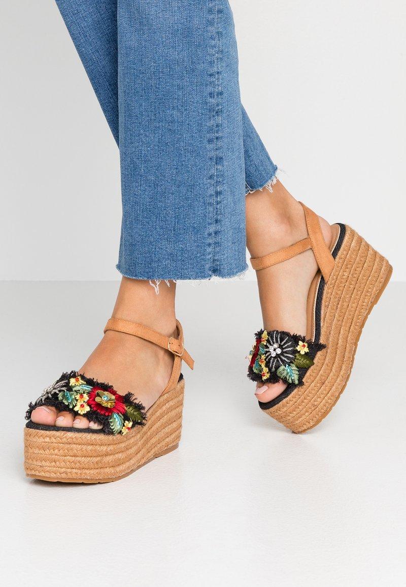 Tata Italia - Sandales à plateforme - jeans blu