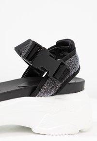 Tata Italia - Sandály na platformě - black - 2