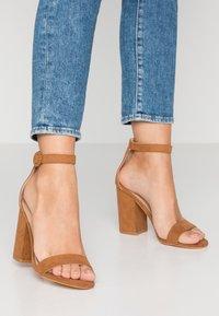 Tata Italia - Sandály na vysokém podpatku - nude - 0
