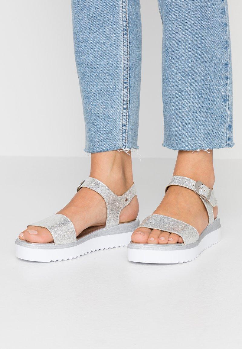 Tata Italia - Platform sandals - silver