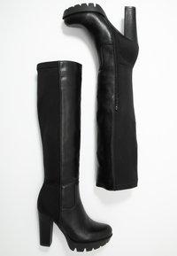 Tata Italia - Kozačky na vysokém podpatku - black - 3