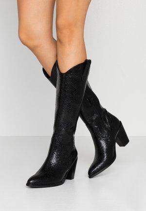 Cowboy/Biker boots - black